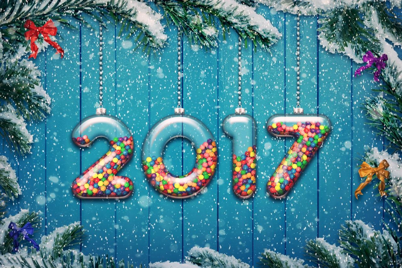Новый год 2017